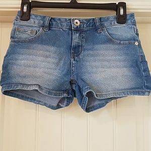 Justice Sparkle Jean Shorts